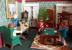 My customised Playmobil mostly Victorian