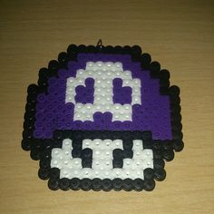 Poison mushroom hama beads by hama_beards