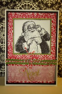StampinSyl Stampin Up kerstkaart christmas card