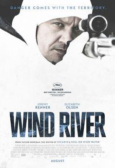"""""""Wind River"""" Elizabeth Olsen,  Jeremy Renner"""