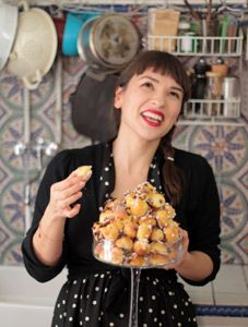 Rachel Khoo's unconventional food background has helped formulate her unique culinary touch. Her passion for pâtisserie lured her to Paris, where she studied at Le Cordon Bleu and obtained a pastry degree.