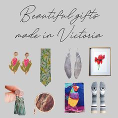 Want to keep it super local this Christmas? No problems - here is a taster of the gifts we have avaialble made by artists and designers in Melbourne and greater Victoria. Simply pop VIC in the search bar on our website to find many more Australian Gifts, Australian Flowers, Australian Artists, Native Australians, Gifted Education, Corporate Gifts, Gifts For Him, Melbourne, Designers