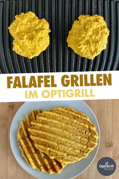 OptiGrill Rezept: Falafel grillen I love the smell of Arabic restaurants and I can promise you one t Grill Sandwich, English Tea Recipes, Hot Tea Recipes, Macaroni Salad, Grill Pan, Baking Recipes, Risotto, Salad Recipes, Zucchini