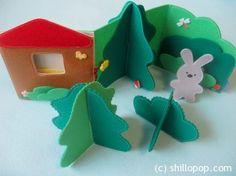 Развивающие игрушки от Shill O'POP » Книжка – раскладушка про Мишку или Зайку