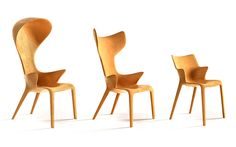 philippe starck's lou collection for driade expresses playful anthropomorphic qualities