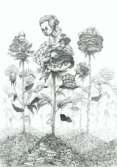 Golestan. Garden of wisdom, by Rustam Qbic