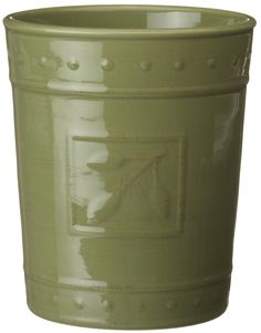 Amazon.com: Signature Housewares Sorrento Collection Tool Jar, Green Antiqued Finish: Canning Jars: Home & Kitchen
