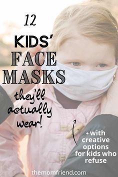 We rounded up some of the best kids face masks available, as well as some creative alternatives if your child puts up a bit of a fight when it comes to having their face covered!