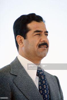 Saddam Hussein, World Leaders, Denim Outfit, Still Image, The Man, Dc Comics, Presentation, Portrait, Politicians