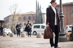 #StreetStyle en Pitti Uomo 2015, en Florencia © Daniel Bruno Grandl from TheUrbanSpotter.com
