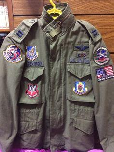 USAF Patch up  M-65 Field Jacket