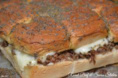 Hot Roast Beef Sliders