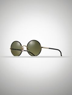 Classic Round Sunglasses - Ralph Lauren Sunglasses - RalphLauren.com   I need these more than anything in the world.