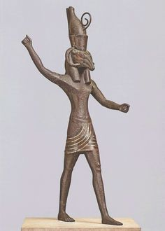 Set in the pose of Baal