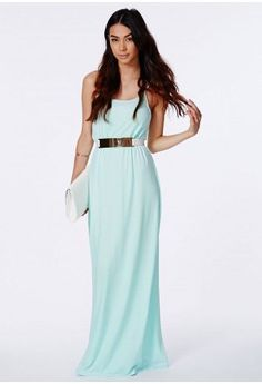 Nice Girls Party Dresses Missguided - Mayaka Mint Strappy Crepe Maxi Dress Check more at http://24store.cf/fashion/girls-party-dresses-missguided-mayaka-mint-strappy-crepe-maxi-dress/