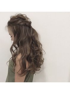 easy diy hairstyles for formal events Winter Hairstyles, Elegant Hairstyles, Bride Hairstyles, Pretty Hairstyles, Teenage Hairstyles, Hair Colour Design, Hair Arrange, Hair Setting, My Hairstyle