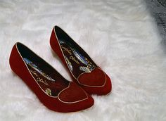 I love heart detailed shoes!