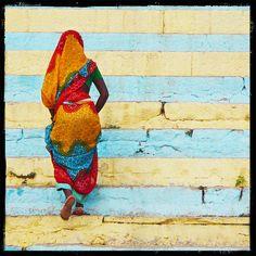 Colors of Varanasi, Benares, India