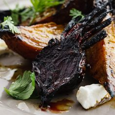Curtis Stone | Grilled beet salad with balsamic and goat cheese