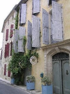 Provence - Faded Lavender shutters