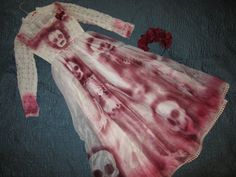 Day of the Dead corpse bride Costume dress by RestyledCostumes