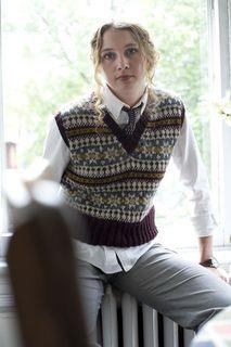 What His Is Hers Fair Isle Vest pattern by Joanne Yordanou