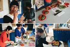 La satisfación de cocinar y aprender cosas nuevas y nuevo vocabulario // The good feeling of cooking and learning new things and new vocabulary.