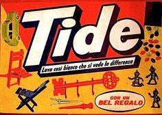 _L'aiuto Becchino: Tide e Sifiso: Scontro tra Titani! Vintage Advertisements, Vintage Ads, Vintage Italian Posters, Illustration Story, Illustrations, Vintage Italy, Ol Days, The Good Old Days, Box Art