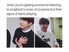 When my bts playlist is on shuffle