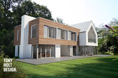 Remodel of existing bungalow designed by Tony Holt