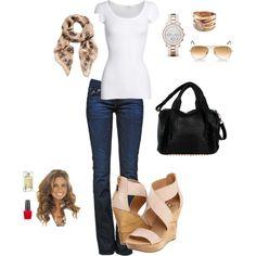 Simple & Casual with Class, created by abonney on Polyvore