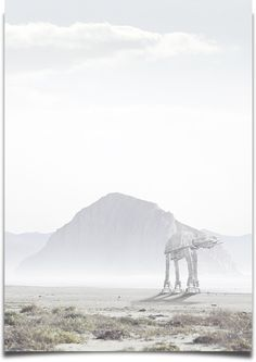 AT-AT (Lost Out collection) | By: Daniel Reuber, via Behance (#starwars)