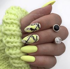 Sweater Nails Design Rings Yellow Stripe Stiletto Matte Nails Yellow Sweater Sweater Nails Design Rings Yellow Stripe Stiletto Matte Nails Yellow Sweater Maggie s Daily maggiesdaily Nails Art 038 Design Sweater nbsp hellip Neon Nail Art, Neon Nails, Matte Nails, Neon Yellow Nails, Stiletto Nails, Neon Green, Summer Acrylic Nails, Best Acrylic Nails, Acrylic Nail Designs