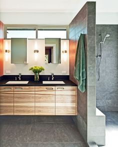 Master Bathroom Layouts Design Ideas, Pictures, Remodel, and Decor - page 2