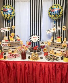 Emoji  Birthday Party Ideas | Photo 2 of 13