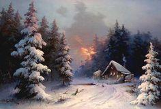 Eugene Garin. Snowmill