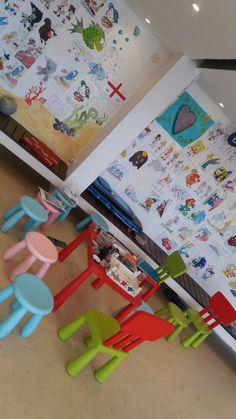 Room is ready tp play. Kidsclub