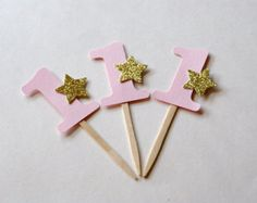 Pink Gold Twinkle Twinkle Little Star by SignsationalSayings