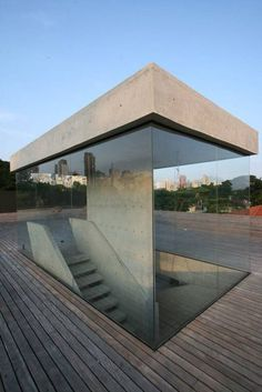 self-standing stairwell at loducca office building in são paulo,   http://your-awesome-architecture-pictures.blogspot.com