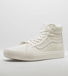 We offer the latest & greatest mens footwear, shop online for Cup CAat Size? FREE DELIVERY on orders > White Vans, Sk8 Hi, Student Discounts, Vans Sk8, Buy Now, Combat Boots, Trainers, High Top Sneakers, Footwear
