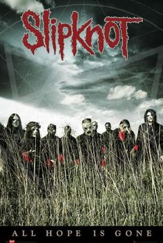 Poster SLIPKNOT - All Hope Is Gone