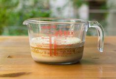 Εφτάζυμο ψωμί (Κρητική συνταγή με όλα τα μυστικά) Liquid Measuring Cup, Measuring Cups, Pyrex, Breads, Kitchen, Bread Rolls, Cooking, Measuring Cup, Kitchens