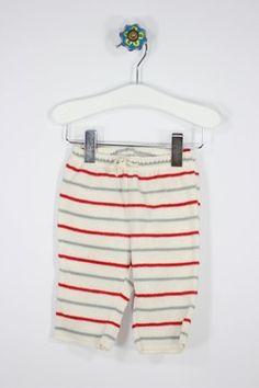 Baby Gap Size 0-3M Fleece Stripe Pants