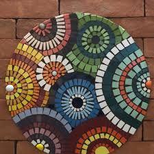 Peace By Piece, Mosaic Artwork, Crochet Mandala, Mosaic Projects, Mosaic Glass, Ceramic Art, Mosaic Tables, Holiday Decor, Drawings