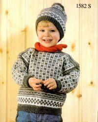 Koftebasen - masse gratis, gamle norske mønstre både for barn og voksen.