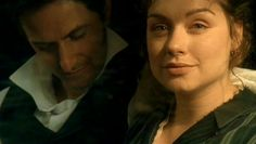 """""""THORNTON and MARGARET … a sense of them each in their own thoughts, both serious and excited, as the train slips away northbound, to their future."""" -  episode 4 North and South"""