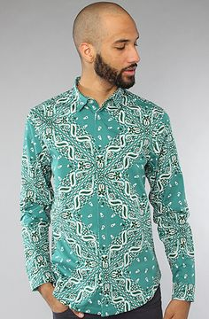 Paisley Button Up Shirt by Dope Couture