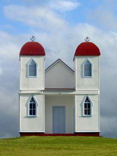 NZ Ratana Church near Raetihi