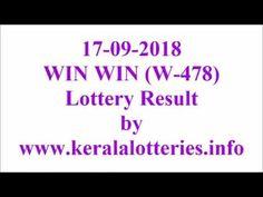 Kerala Lottery Result  Win Win W-478 on 17-09-2018