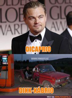 DiCaprio vs Dikk-Kábrio